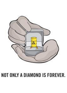 Not only diamond is forever (nuclear)