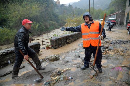Maltempo Liguria: ponente Genova, in un'ora 103 mm di pioggia