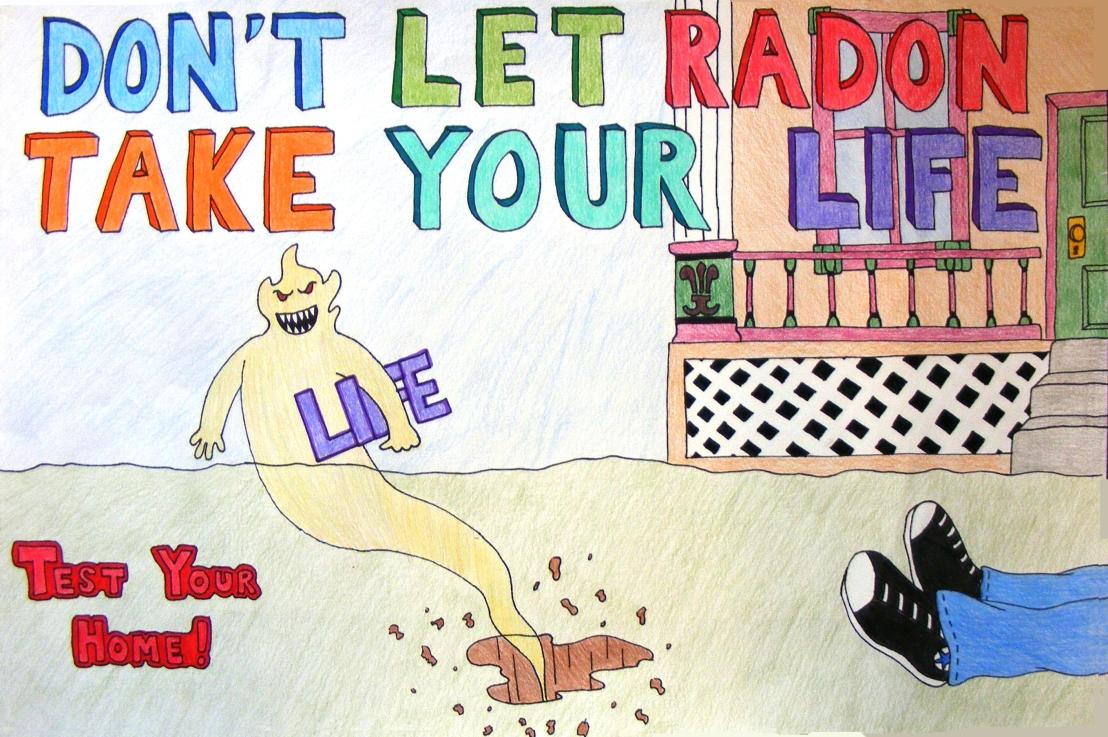 Il radon. Se sai come evitarlo, loeviti.
