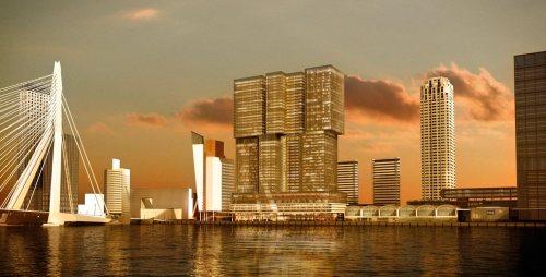 Stahlbau Pichler: De Rotterdam | Studio Oma, Arch. Rem Koolhaas